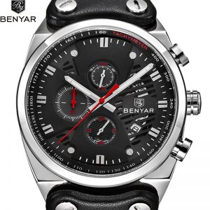 2019 BENYAR Quartz Men's Watches Top Brand Men Military Leather Men Sports Watch Waterproof Luxury Clock Relogio Masculino
