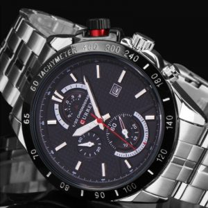 2020 CURREN Full Steel Chronograph Mens Watches Top Brand Luxury Men Military Sport Wristwatch Waterproof Quartz Watch Men reloj