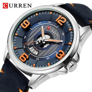 2020 CURREN Watch Men Fashion Blue Quartz Clock Mens Watches Top Brand Luxury Chronograph Waterproof Military Sport Men's Watch