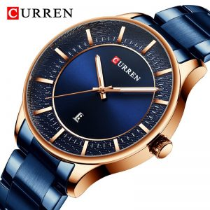 2020 Mens Watches CURREN Luxury Brand Fashion Quartz Watch Stainless Steel Men Business Waterproof WristWatch Relogio Masculino