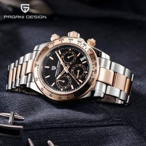 2020 Mens Watches Top Brand Luxury PAGANI DESIGN Automatic Watch Men Business Sport Watches Men Quartz Wristwatches Chronograph