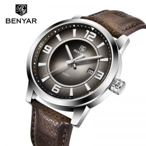 BENYAR Men's Watches Top Brand Luxury Men Watch Waterproof Quartz Watch Men Business Watch Men Military Watch relogio masculino