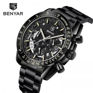 BENYAR Mens Watches Top Brand Luxury 30m Waterproof Date Clock Male Sports Watch Men Quartz Wrist Watch Relogio Masculino 2019