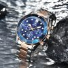 BENYAR Mens Watches Top Brand Luxury Quartz Watch Men 2020 Waterproof Sport Watch For Men Chronograph Military Relogio Masculino 7044