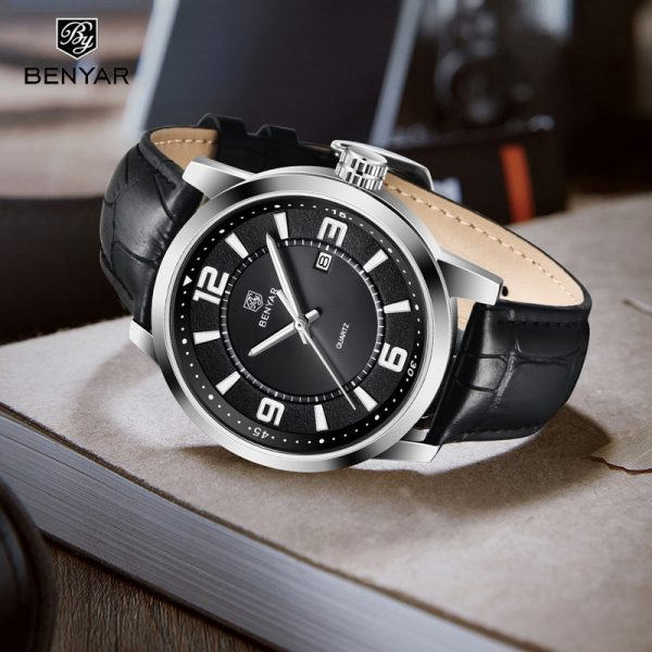 BENYAR Top Brand Luxury Men Watch Waterproof Quartz Watch Men Fashion Casual Sports Watch Men Military Watch relogio masculino
