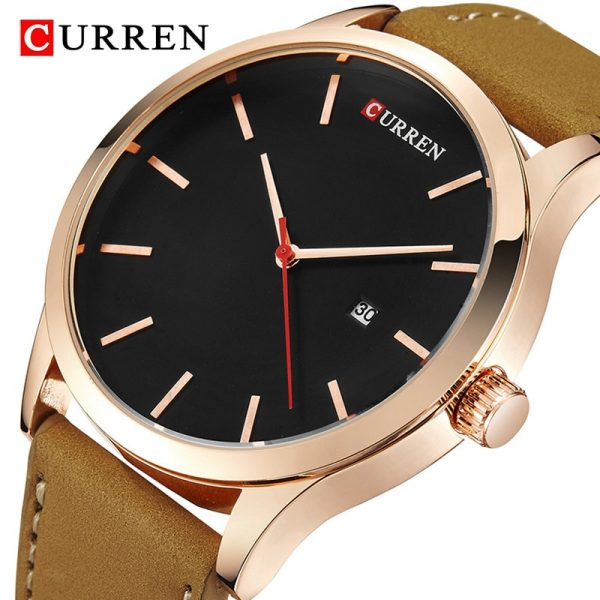 CURREN Fashion Simple Men Watch Top Brand Luxury Military Sport Wrist Watch Men Quartz Clock Mens Watches Waterproof Relogio