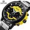 MEGIR Mens Watches Top Brand Luxury Men's Big Dial Military Sport Watch Men Quartz Chronograph Army Waterproof Relogio Masculino