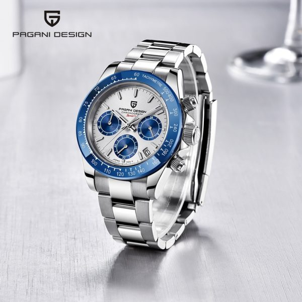 PAGANI Design Men's Watches For Men Sport Quartz Wristwatch Stainless Steel Waterproof Fashion Watch Luxury Chronograph Relojes