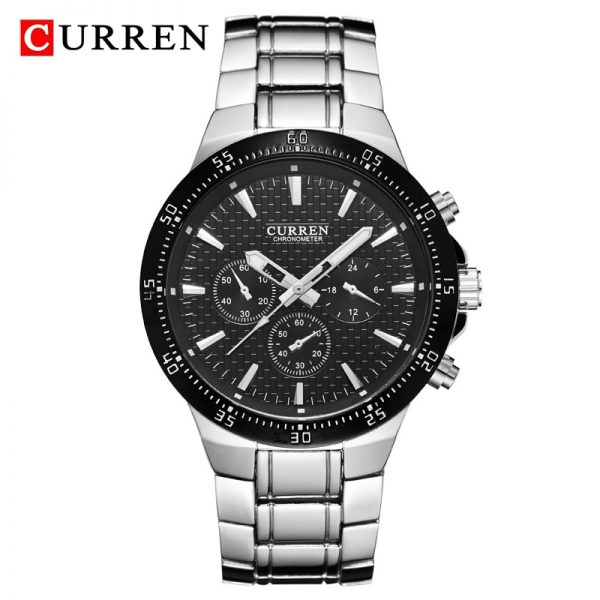 Relogio Masculino Mens Watches CURREN Luxury Top Brand Men Waterproof Sport Watch Full Steel Men's Quartz Clock Man Wrist Watch