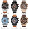 Reloj CURREN 8291 Watch Men Chronograph Mens Sport Watches Leather Military Quartz Watch Waterproof Male Clock Relogio Masculino 835