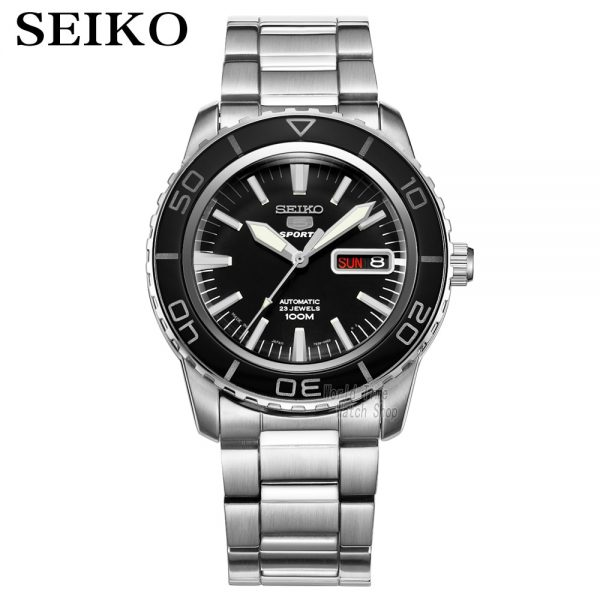 seiko watch men 5 automatic watch top brand luxury Sport men watch set waterproof mechanical military watch relogio masculinoSNZ