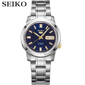 seiko watch men 5 automatic watch to Luxury Brand Waterproof Sport men watch set waterproof watch relogio masculino