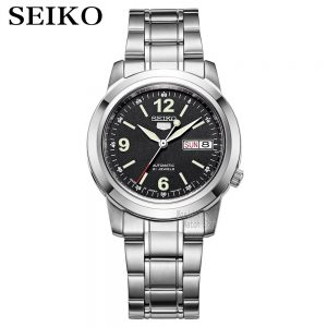 seiko watch men 5 automatic watch top brand luxury Sport men watch set waterproof mechanical military watch Relogio MasculinoSNK