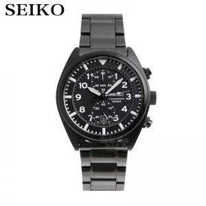 seiko watch men top Luxury Brand Waterproof Sport Wrist watch solar watch Chronograph quartz men watch Relogio Masculino SNN233